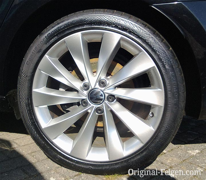 VW Alufelge INTERLAGOS bright chrome