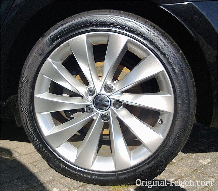 VW Alufelge INTERLAGOS Brillantsilber