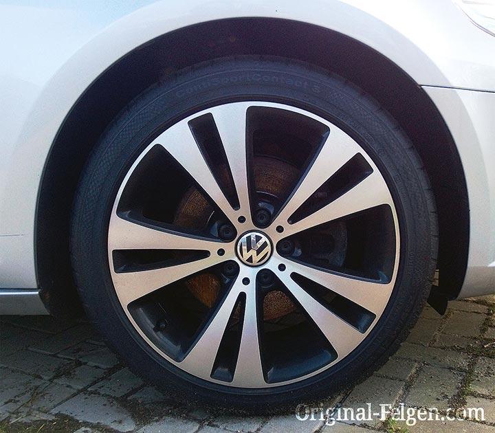 VW Alufelge CHICAGO schwarz glänzend