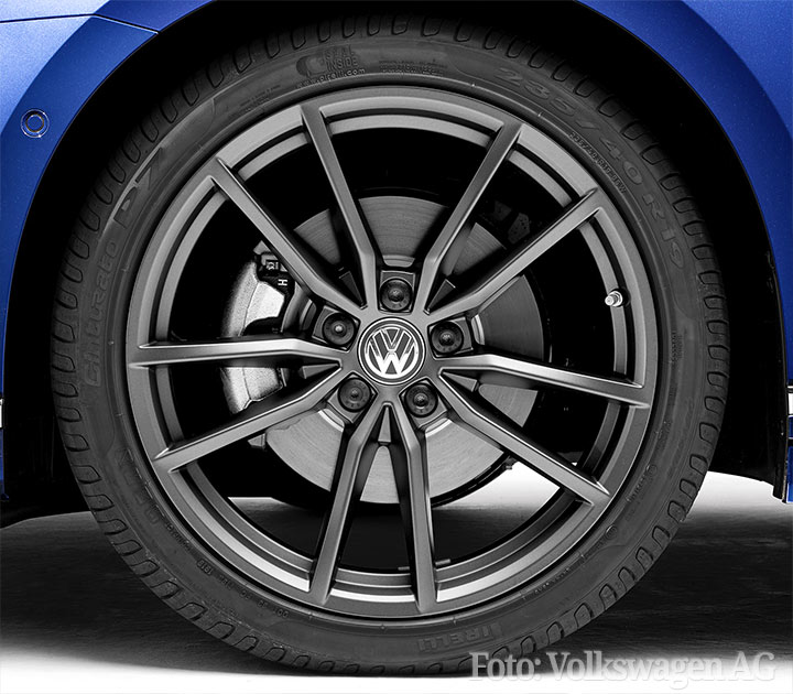 VW Zubeh�rfelge PRETORIA Dark Graphite Matt