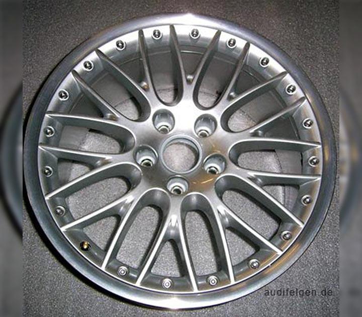 Aluminiumfelgen Audi exclusive 20-Speichen-Design