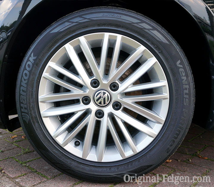 VW Alufelge FORTALEZA bright chrome