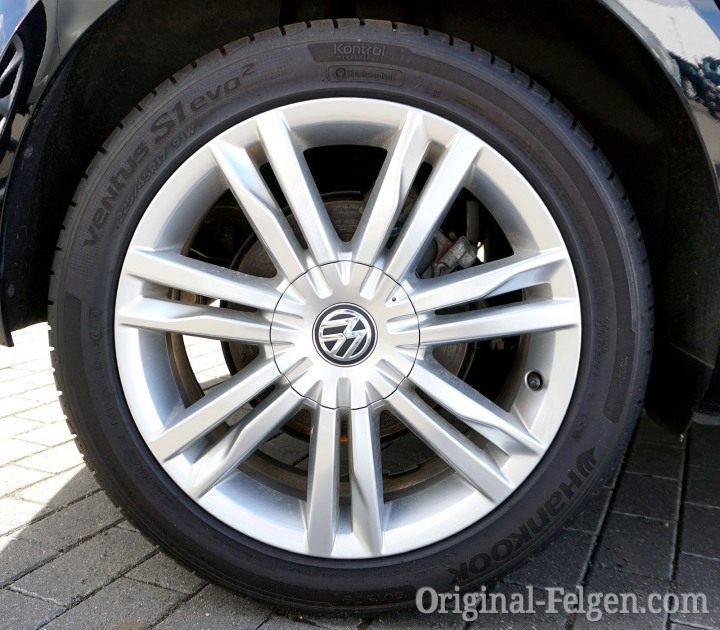 VW Alufelge GENEVA bright chrome