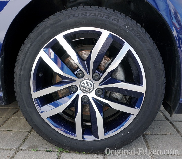 VW Alufelge MADRID atlantic blue
