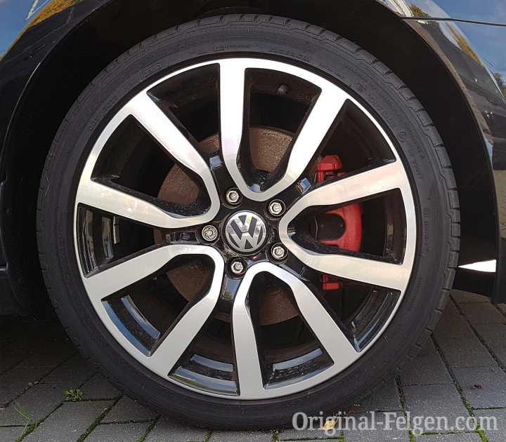 VW Alufelge SERRON schwarz glänzend