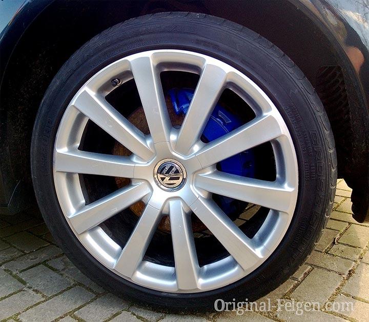 VW Scheibenrad Alufelge OMANYT brillantchrom
