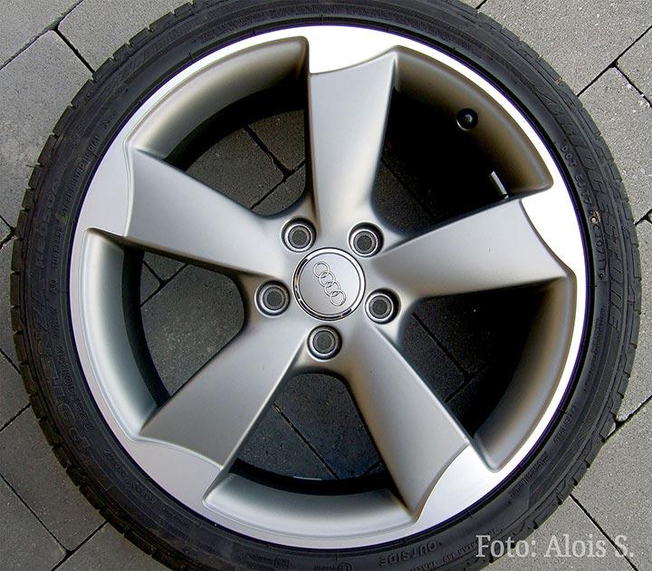 Audi Alufelge Rotor
