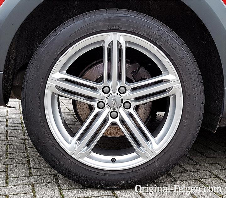 Audi exclusive 5-Segmentspeichen Design