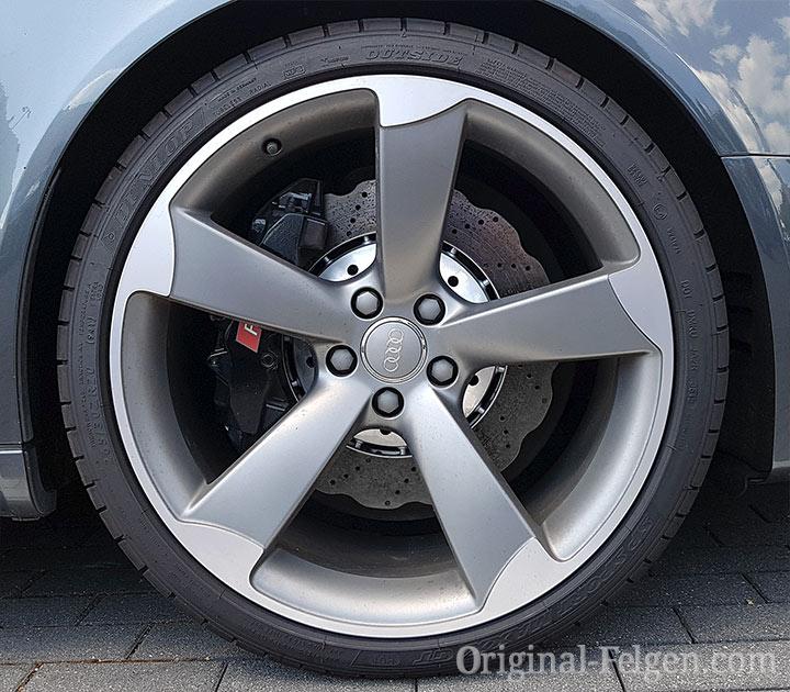 Audi exclusive 5-Speichen Rotor Design