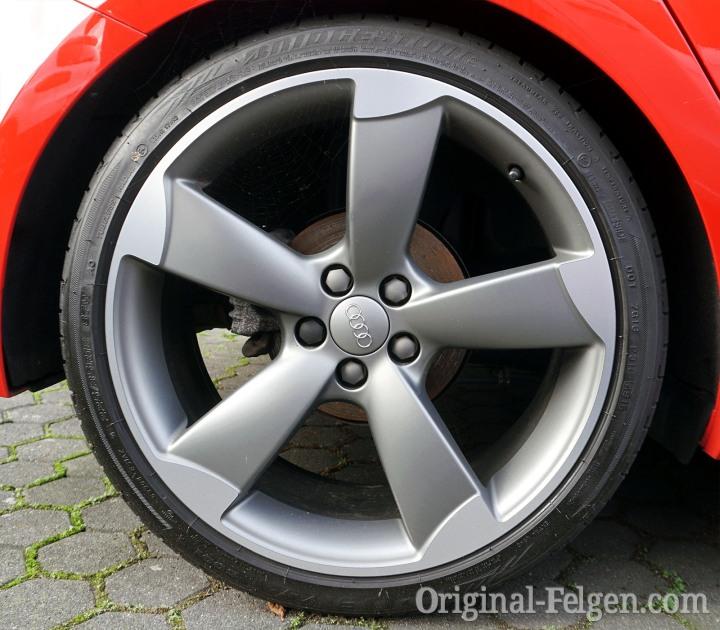 5 Speichen Rotor Design Alufelge Titan