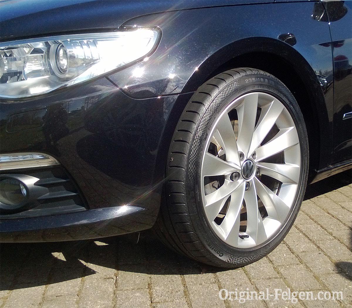 Audi Vw Original Felge 3c8 601 025 D Vw Alufelge